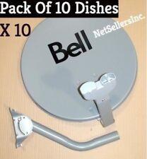 "Pack of 10 lot 10 NEW 20"" SATELLITE Dish 500 BELL TV Express Vu HD 20 inch"