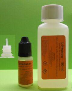 110 ml Lötwasser, Flussmittel speziell für SMD (no clean,säurefrei) Weichlöten