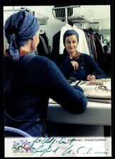 Ursula Cantieni Die Fallers Autogrammkarte Original Signiert ## BC 34171