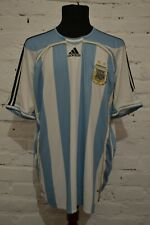 ARGENTINA 2006/2007 HOME FOOTBALL SHIRT SOCCER JERSEY CAMISETA ADIDAS MENS XL