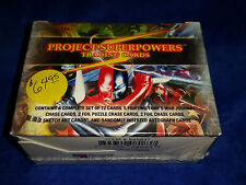 Project Superpowers - 2011 Breygent - 72 Complete Set Factory Sealed