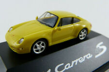 Porsche Carrera 4S gelb Händlermodell Herpa WAP022004 1:87 H0 OVP [K7]