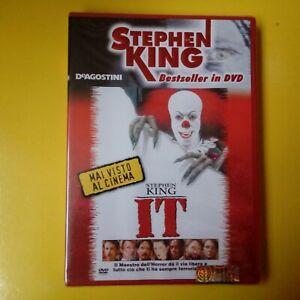 DVD Stephen King Bestseller DeAgostini IT Nuovo Blisterato