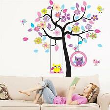 Decals Decor Art Home Removable Owl Mural Wall Stickers Kid Baby Nursery  Tree T, Part 97