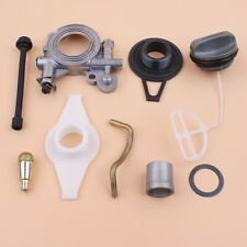 Oil Pump Worm Gear Cap Line Filter Kit For Jonsered 2063 2065 2071 2163 2171 Saw