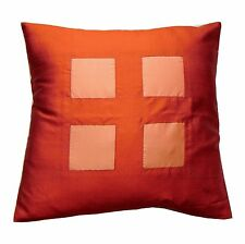 2 x 16'' 100% Thai Silk luxury cushion covers
