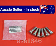 GENUINE NISSAN PATROL GU GQ Y60 Y61 REAR WHEEL LUG STUD 40222-C6001 SET OF 6