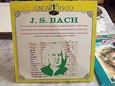 J.S.Bach OS-068 Lp 33 giri vinile 1968 concerto Brandeburghese lp perfetto