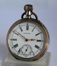 Longines First Price Paris Silver Antique Swiss Pocket Watch of 1890