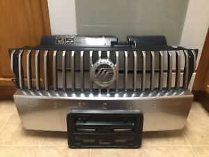 2005 2006 2007 MERCURY MARINER FRONT UPPER , and  LOWER BUMPER GRILLE USED OEM