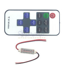 12V 11 Keys RF Wireless Remote Switch Controller Dimmer for LED Strip Light