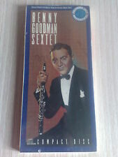BENNY GOODMAN SEXTET - BOX CD SIGILLATO (SEALED)