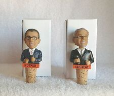 SET of Mike Krukow + Duane Kuiper GIANTS Wine Stopper mini Bobble Bobblehead SGA
