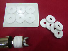 Bait pump washers to fit 28mm bait pumps (Silicone rubber)