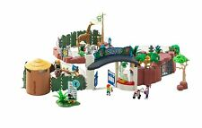 Playmobil 4850 Large Zoo Near Complete With Instruction Manual RARE HTF SET EUC