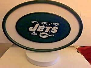 Adventure Furniture NFL New York JETS Logo Art Stand New