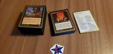 MTG World Championship 1998 Deck Brian Selden Dragon Shield Sleeves Complete