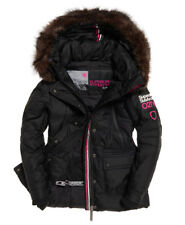 Womens Superdry Canadian Down Ski Parka Jacket Coat rrp £195