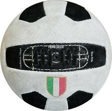 JUVENTUS   ITALIAN Vintage Suede Soccer Ball 1960's replica