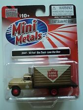 CLASSIC METAL WORKS 1960 FORD  BOX TRUCK  LONE STAR  BEER   1/87  HO PLASTIC