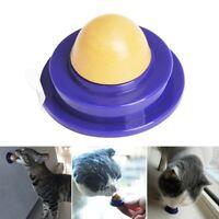 Gesund Katze Snacks Katzenminze Bonbon Lecken Solid Ernährung Energie Ball#wsk