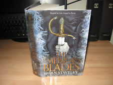 Brian Staveley The Emperor's Blades Signed Lined Dated Doodled 1st Limited debut