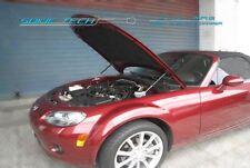 06-14 Mazda Miata MX5 NC MX-5 Silver Carbon Strut Lift Hood Shock Damper Kit