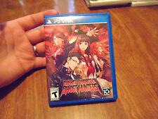 Tokyo Twilight Ghost Hunters PS VITA Sony PlayStation Vita PSVITA RARE COMPLETE