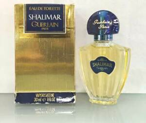 SHALIMAR de  GUERLAIN EAU DE TOILETTE - 30 ML / 1.0 FL. OZ. - OLD VERSION