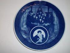 "Royal Copenhagen Plate 1983 75Th Anniversary Christmas Memories 91/2""Dia"