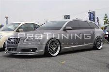 Audi A6 4F C6 04-08 Front Bumper spoiler ABT style lip Valance addon S-Line S6 S