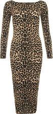 Size Regular Casual Animal Print Dresses for Women