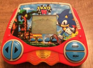 Sonic R Vintage Tiger Electronics LCD Handheld Game Sega 1998 - Hard To Find!