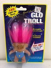 Good Luck Glo Troll Figure Toy New Works
