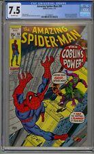 AMAZING SPIDER-MAN #98 CGC 7.5 DRUG STORY