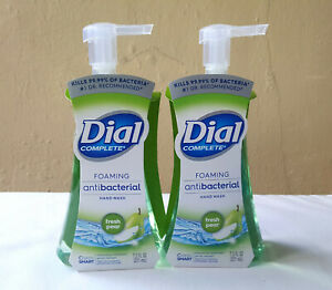 2 pack Dial Complete Soap Foaming Liquid Hand Wash 7.5 Oz Fresh Pear