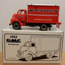 Cole Express 1952 GMC Dry Goods Van 1st Gear 1/34 Diecast 111219DBT5