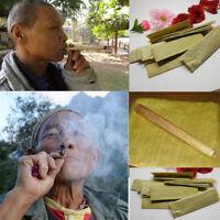 10 Leaves Dry banana leav Thai Antique Cigarette Tobacco Rolling are not gummed