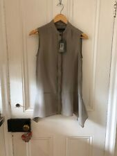 All Saints Isha Shirt - Silk Blend - Oversized - UK4 Would Fit Up To UK8 BNWT