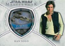 Star Wars Masterworks 2018, Han Solo MP-RAH Ship Emblem Card #011/175