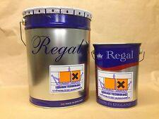 2 PACK EPOXY RESIN TOPCOAT ENAMEL FOR METAL, STEEL - VARIOUS SIZES & COLOURS
