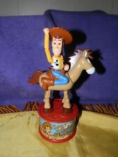 1999 McDonalds Toy Story 2 Woody's Roundup Push Puppet & Candy Dispenser