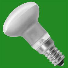 2x 20w (= 25w) Halógeno R39 Foco Reflector Lámpara, Regulable SES E14