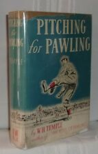 W.H. Temple PITCHING FOR PAWLING First edition 1940 SCARCE Baseball Novel SIGNED