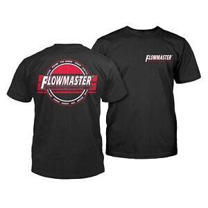 Flowmaster T-Shirt (Black) Men's XL - Brand New In Original Bag - SHIPS FAST!