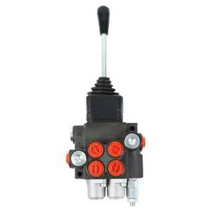Hydraulic Directional Control Valve Tractor Loader w/ Joystick Adjustable