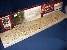 "Natural Granite 4"" x 21"" Side Splash Golden Sand"
