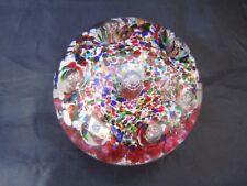 Sulfure presse papier bulle verre cristal baccarat st louis