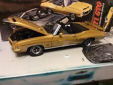 Gmp 1:18 Escala 1971 Pontiac Gto The Judge Oro Convertible