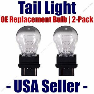 Tail Light Bulb 2pk -- OE Replacement Fits Listed Dodge Vehicles -- 3157